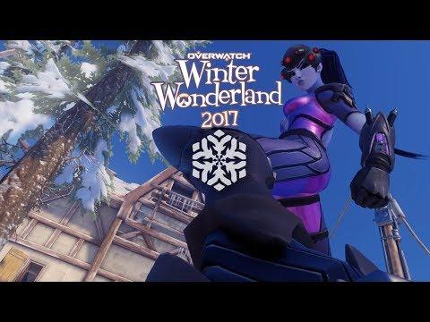 Overwatch: Winter Wonderland Collection Skins, Voice Lines, Emotes & Sprays! HD