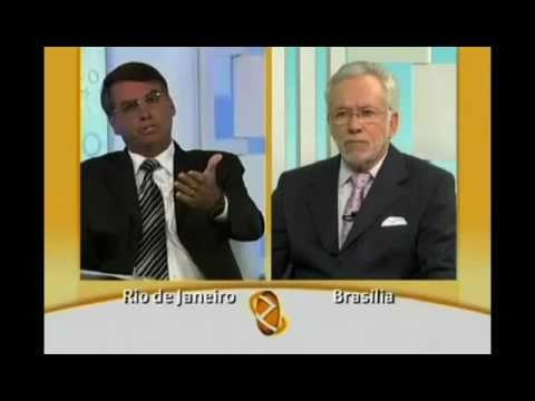 GLOBO NEWS: Bolsonaro e Alexandre Garcia falam sobre a
