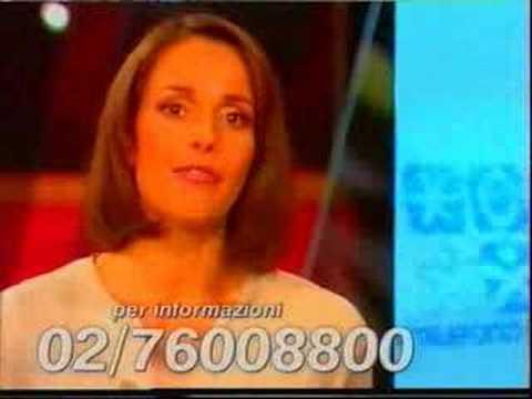 Cristina Parodi per Telefono Azzurro