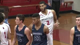 McDowell vs Meadville-Boys High School Basketball