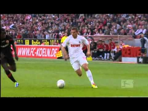 Lukas Podolski all goals of the first half of the season  /  Bundesliga 2011/2012  1.FC Köln