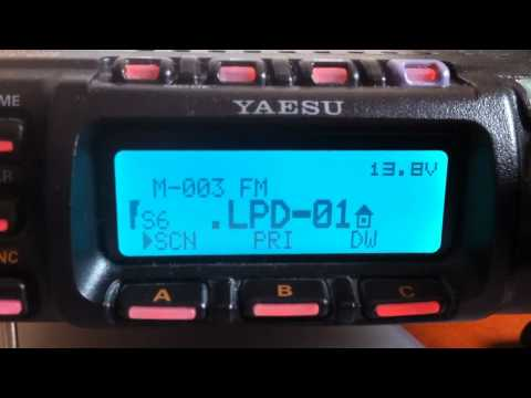 UHF LPD 433.075
