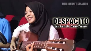 Luis Fonsi KAGET! A Beautiful Woman's A Beautiful Sound Makes Her Awe-Cover Kren - Despacito