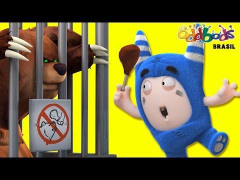 Desenho | Oddbods | Comidos no Zoológico | Desenhos Animados Divertidos Para Crianças
