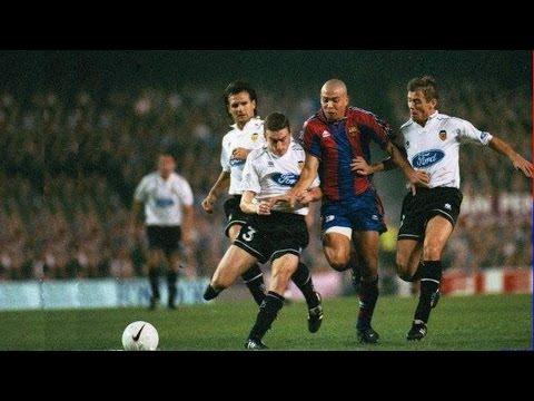 Ronaldo ► Barcelona vs. Valencia ◄ 26.10.1996 ► (Hattrick) 3:2