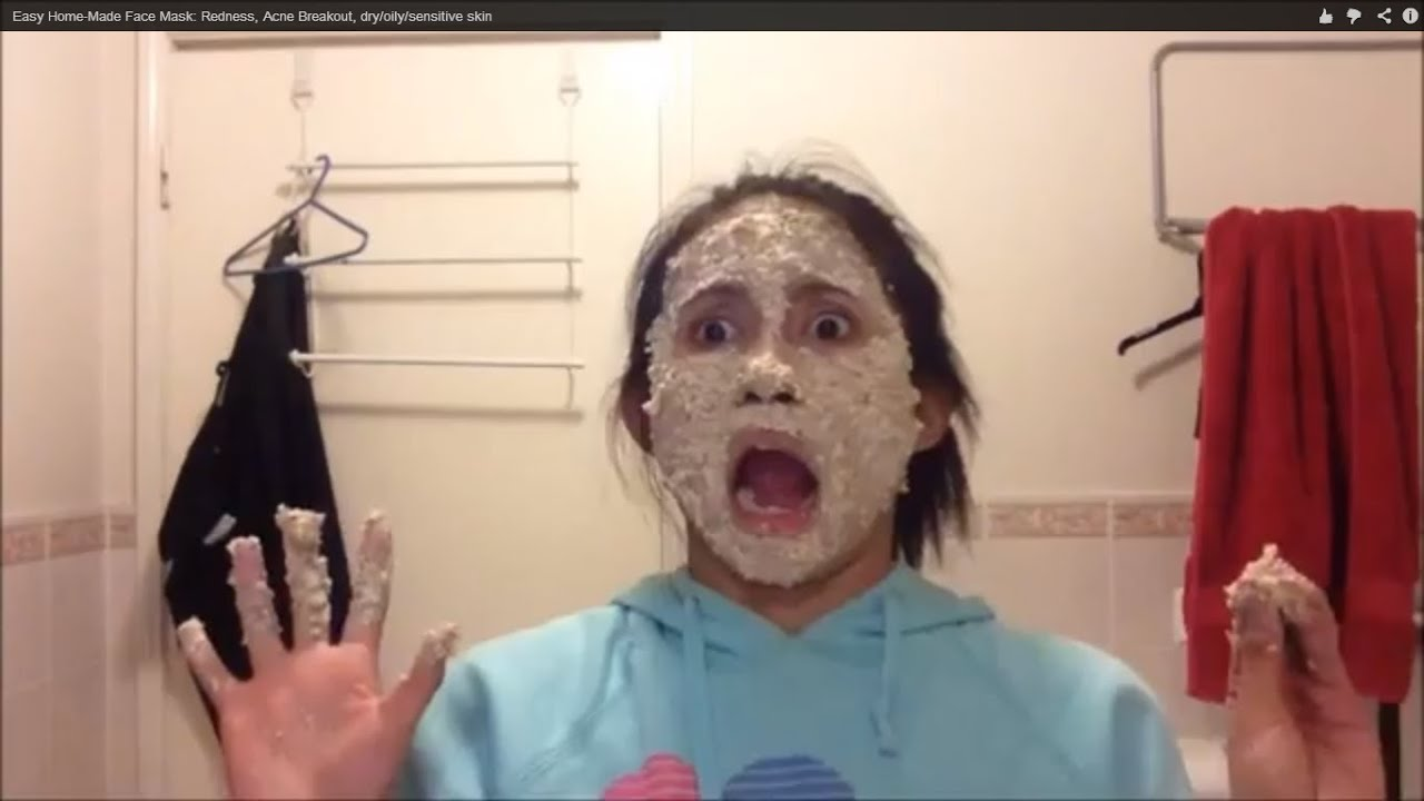 Sensitive Face Mask Easy Home-made Face Mask