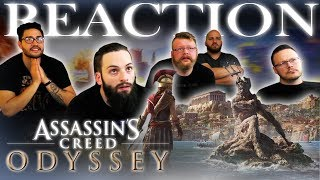 Assassins Creed Odyssey E3 2018 Trailer REACTION!!
