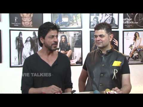 Shahrukh Khan At Dabboo Ratnani Calendar 2016 Launch