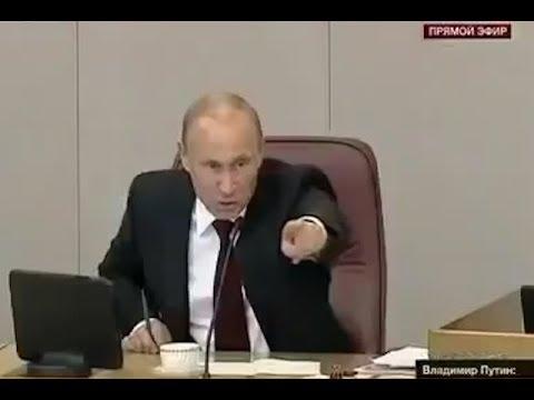 Путин ПОСТАВИЛ НА МЕСТО выскочку депутата!!!