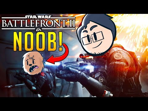 TEACHING JEROMEASF HOW TO PLAY STAR WARS!? l Star Wars Battlefront 2