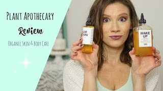 Plant Apothecary Review! Organic Body & Skin Care // Laura's Natural Life