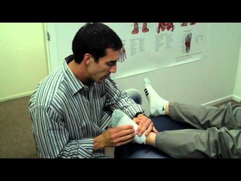 Dr. Jason Worrall-Chiropractic Foot Adjustment