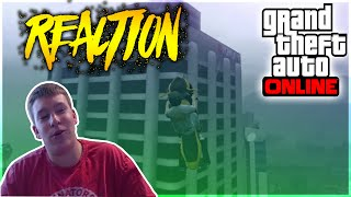 "GTA 5 Stunts - EVOLVE STUNTING TEAMTAGE ""RECALIBRATED"" REACTION (Backseat Teamtage Watching)"