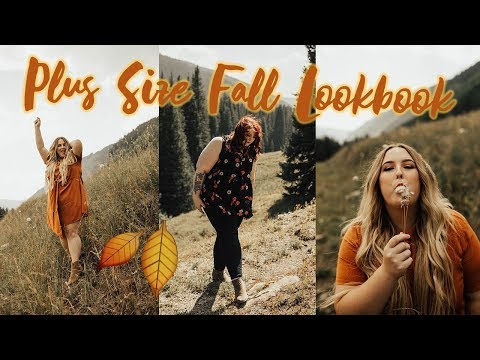 Plus Size Fall Lookbook in Colorado ft. @ashleytheadventurer