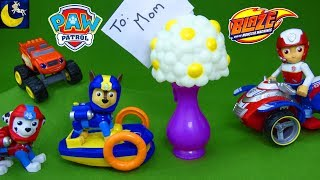 Paw Patrol Toys Happy Mothers Day Gift for Ryders Mom Blaze and the Monster Machines Toy Story Video