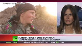 'Tiger Sun': Canadian model becomes anti-ISIS fighter