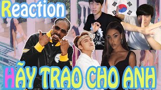 REACTION Korean l Sơn Tùng - Give Me l New Album l World artist l BTS PSY