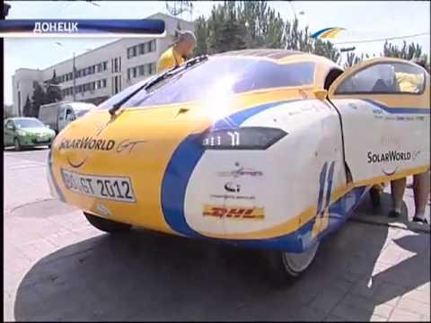 ТК Донбасс - Уникальный солнцемобиль в Донецке