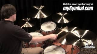 "Paiste 22"" Formula 602 Modern Essentials Ride Cymbal (1141622-1040113P)"