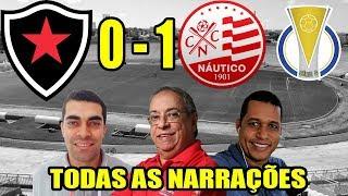 Todas as narrações - Botafogo-PB 0 x 1 Náutico / Brasileirão Série C 2019