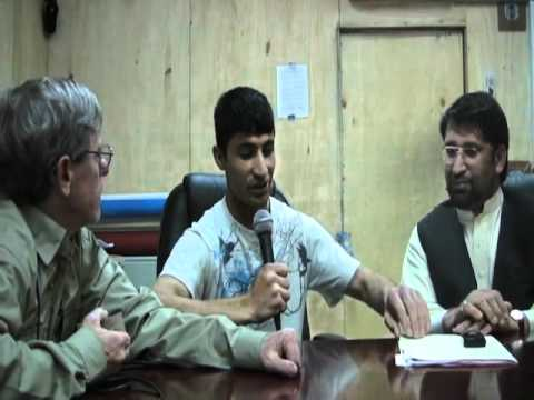 Governor of Nuristan Province. Afghanistan, Talks to Talking With Heroes