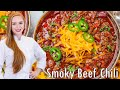 SMOKY Chipotle Beef Chili - The BEST Chili Recipe!