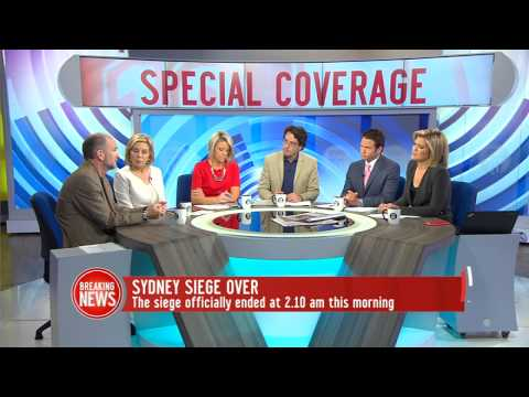 Studio 10 Interview Dr Gary Banks - Psychological Impacts of the Sydney Siege