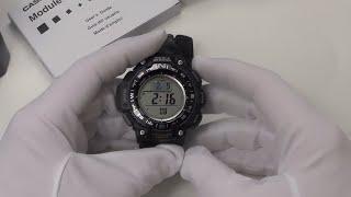 Casio Triple Sensor Watch SGW-1000-1AFC Full Review