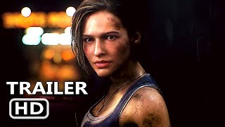 RESIDENT EVIL 3 Official Trailer (2020) NEW Game HD