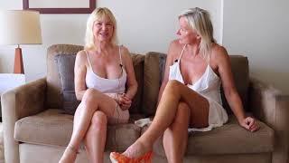 mature braless pokies ULTRA SEXY LEGS