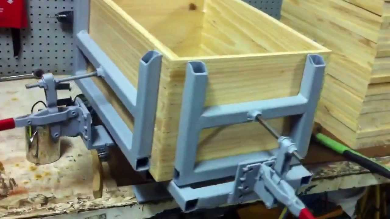 Beehive Assembly Jig Youtube