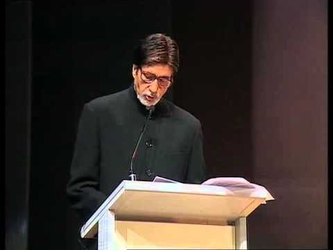 Amitabh Bachchan, Dhirubhai Ambani Memorial Lecture - Reliance Group