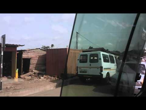 Paloma to La Palm Wine Trotro Route Accra