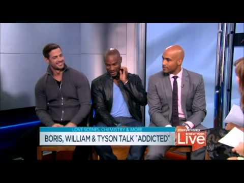 William Levy [willylevy29] Tyson, Boris Talk About Addicted video