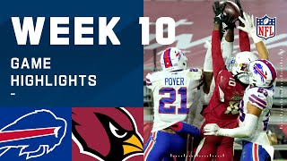 Bills vs. Cardinals Week 10 Highlights | NFL 2020
