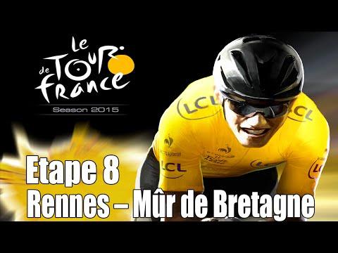 Tour de France 2015 [One/PS4]    Etape 8 : Rennes - Mûr de Bretagne [HD] [Fr]
