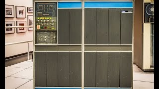 Ken Ross and Paul Laughton demo the IBM 1401