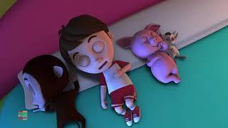 mười trên giường | Ten In The Bed | Baby Box Vietnam | nhac thieu nhi hay nhất