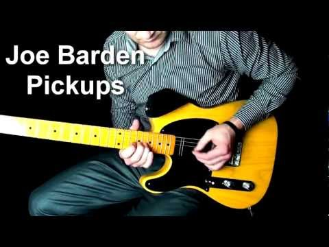 Joe Barden Danny Gatton vs D'Allen Johnny Hiland Pickups
