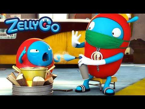 ZellyGo - Cold | HD Full Episodes | Funny Cartoons for Children | Cartoons for Kids