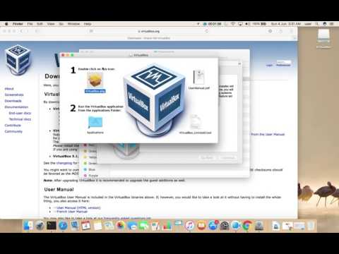 How to Download and Install VirtualBox on macOS Sierra 10.12.5 Mac OS X