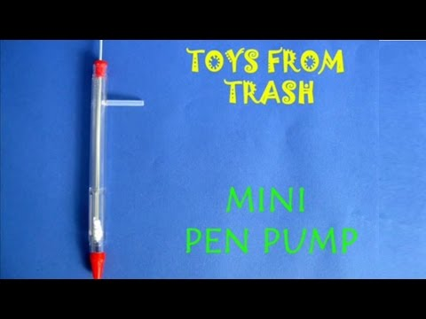 Mini Pen Pump English 19mb Wmv Youtube
