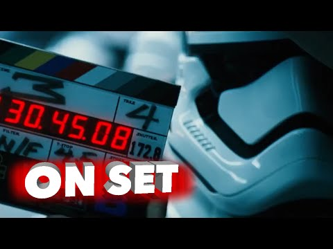 Star Wars: The Force Awakens: Exclusive Behind The Scenes Look - Harrison Ford, JJ Abrams