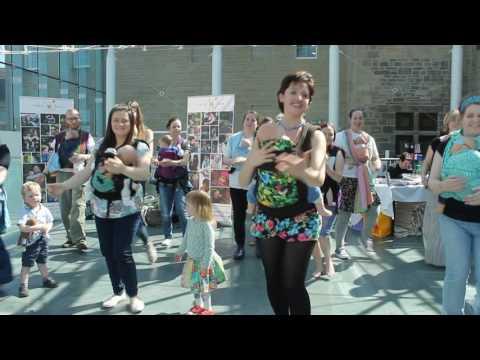 Love is this.. Joimove Global Babywearing Dance Flashmob