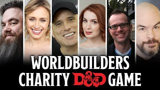 Patrick Rothfuss, Felicia Day, Chris Perkins, Jeremy Crawford, Amy Vorpahl & Todd Kenreck play D&D!