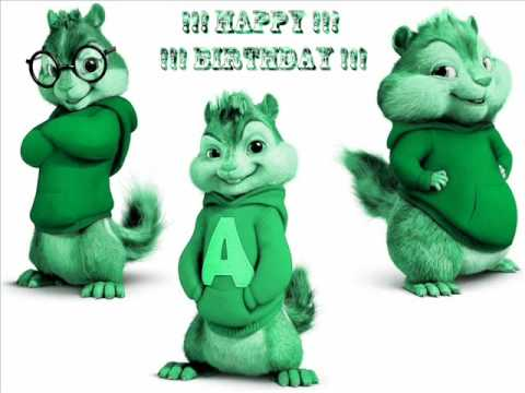 Alvin And The Chipmunks Happy Birthday To You Remix video