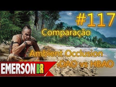 Far Cry 3 - Comparação  Ssao Vs Hdao Vs Hbao