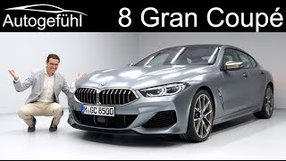 BMW 8 Series Gran Coupé REVIEW Exterior Interior - Autogefühl