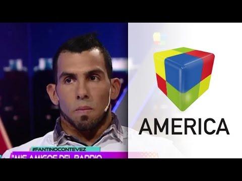 Imperdible video: Mirá lo mejor de la entrevista de Tevez con Fantino