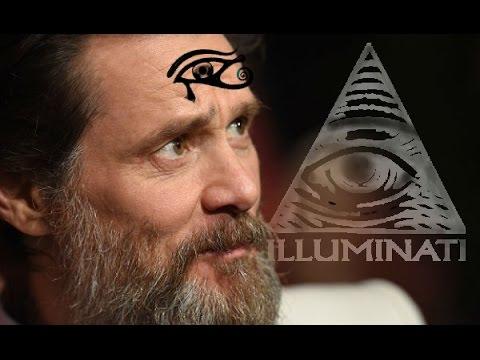 Jim Carrey Anuncia Existencia de los Illuminatis en vivo